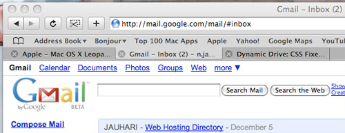 GMail new URL 1