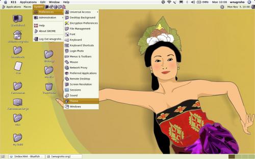 Kamonesan - Desktop