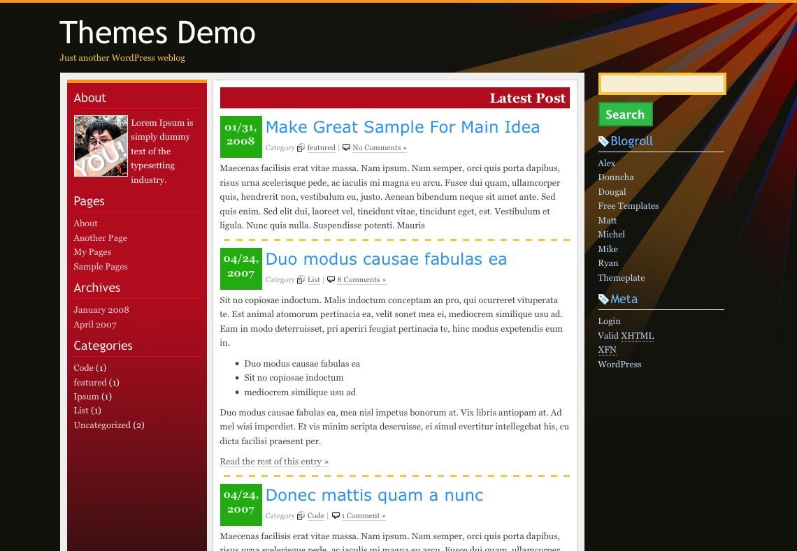 jCrash Screen
