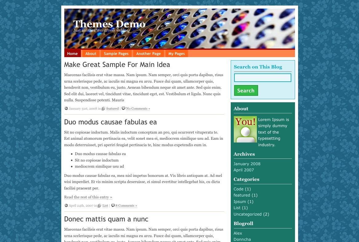 jPattern Screen