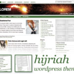 Hijriah WP Theme Screen shot