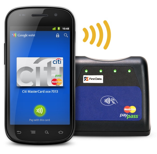 Google Wallet with phone terminal