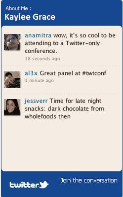 Blogger Twitter Widgets