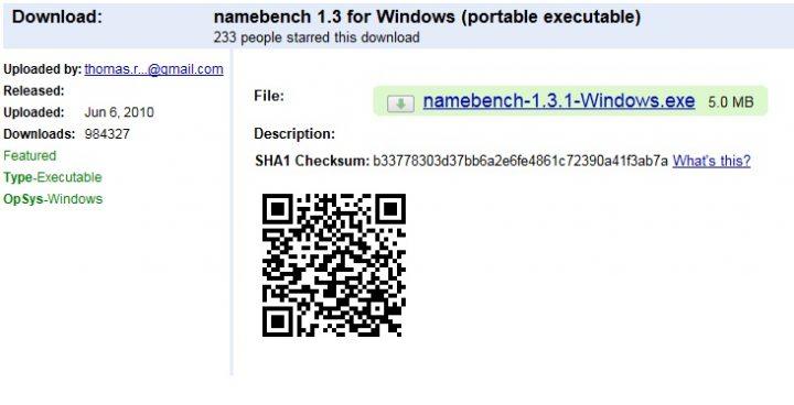 Namebench Download