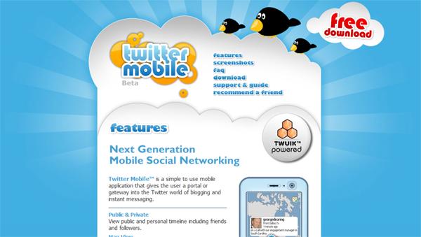 twitter mobile apps