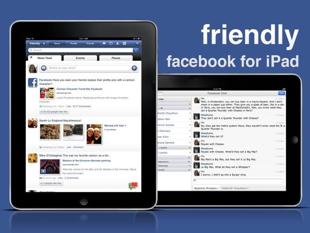 Facebook fo iPad