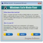 windows safe mode fixer