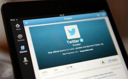 twitter user through mobile