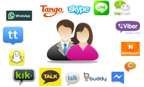 instant messaging apps for android