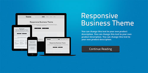 wordpress template for business