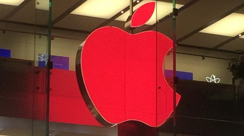 Logo Apple jadi Merah di Apple Store Sydney
