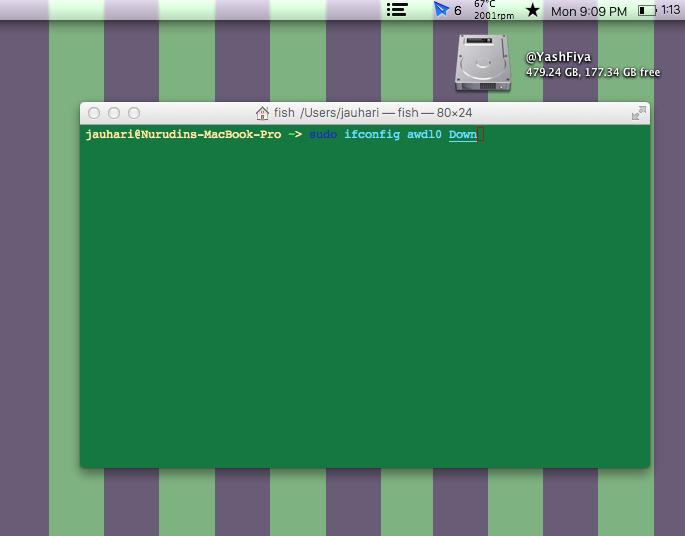 Tips WiFi Issue di OS X Yosemite dengan Terminal