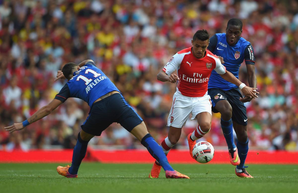 Arsenal, As Monaco, Liga Champions