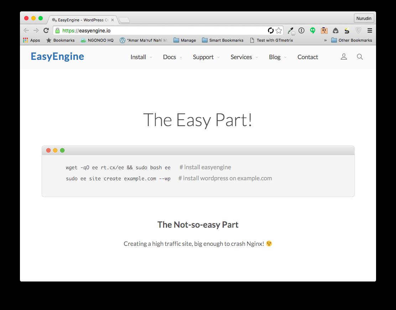Cara Mudah Setup Server dengan EasyEngine