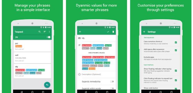 Texpand untuk Android