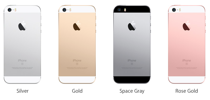 Empat Pilihan Warna Apple iPhone SE