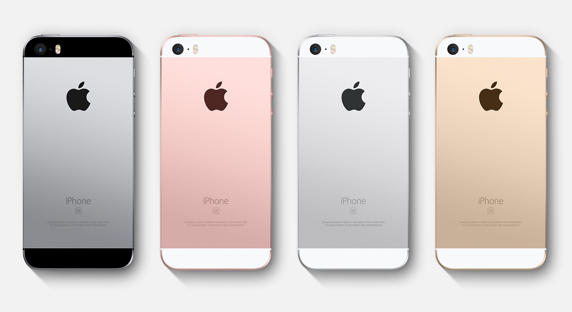 Empat Warna Apple iPhone SE
