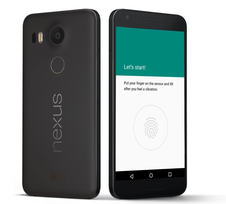 LG Nexus 5x Hitam