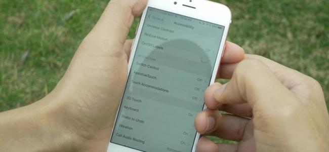 Matikan Semua Animasi iPhone agar iPhone lebih cepat