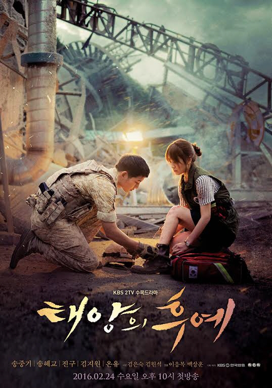 Poster HD Descendants of the Sun