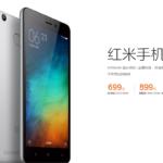 Xiaomi Redmi 3 Fingerprint Scanner RAM 3GB ROM 32GB