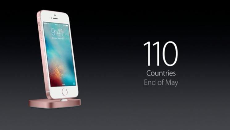 iPhone SE hadir di 110 Negara pada Akhir Mei 2016