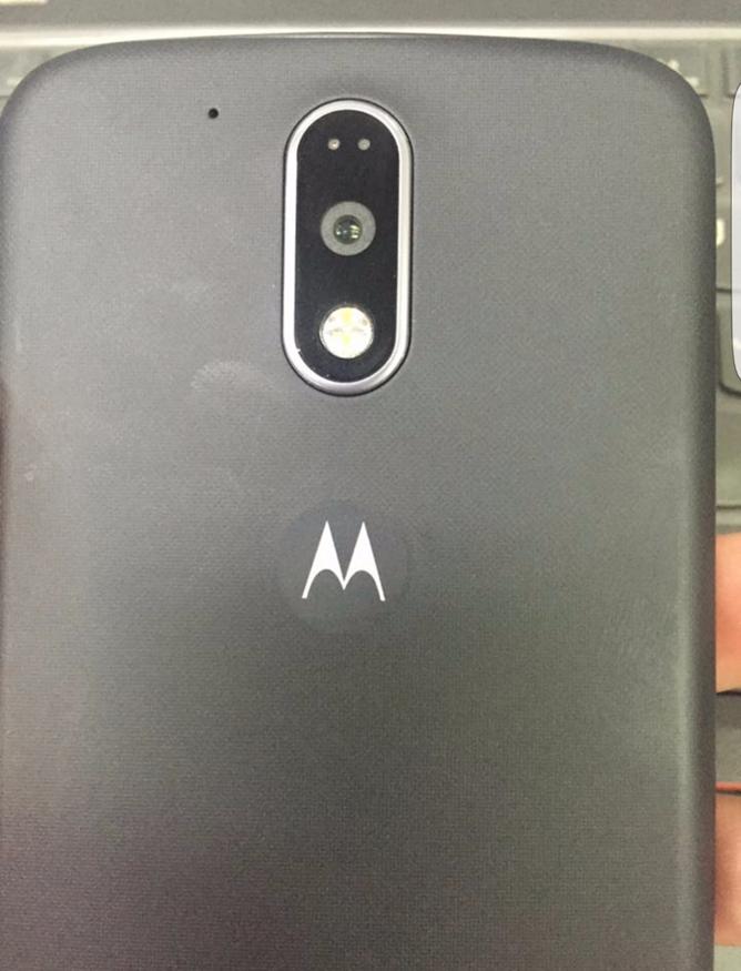 Gambar belakang Moto G 2016