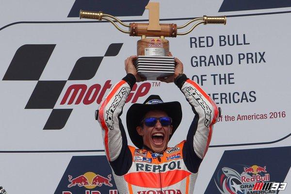 Jawara MotoGP Austin Amerika 2016 Marc Marquez