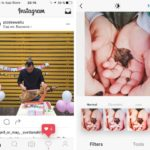 UI Baru Instagram Hitam dan Putih