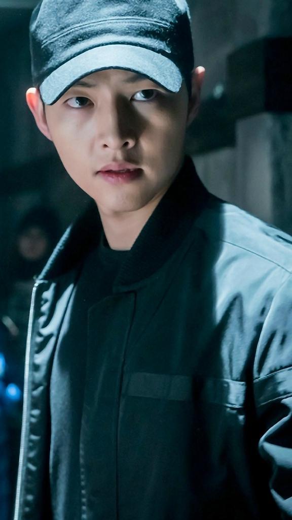 Wallpaper Smartphone Kapten Yoo Si Jin Duty
