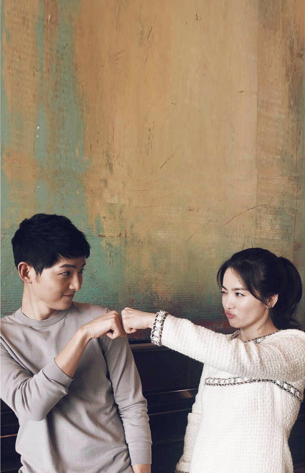 Wallpaper Smartphone Song Joong Ki Dan Song Hye Kyo JauhariNET