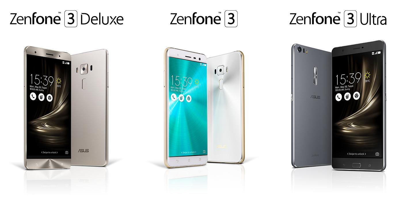 3 Keluarga baru Asus Zenfone 3