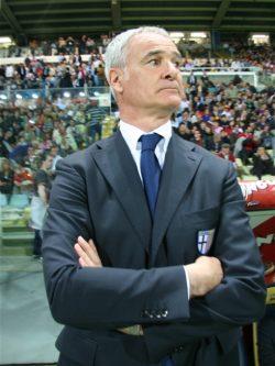 Claudio Ranieri saat melatih Parma