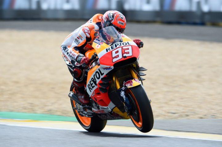 Marc Marquez di Le Mans Prancis MotoGP 2016