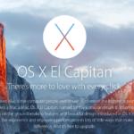 OS X El Capitan baru