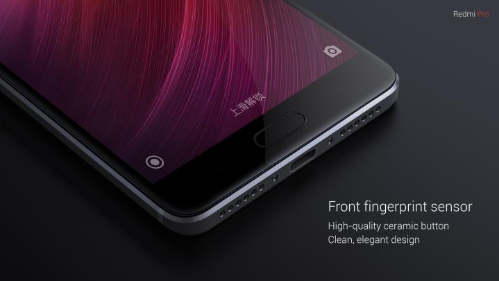 Fingerprint Redmi Pro elegan