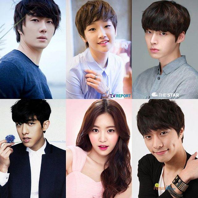"Pemain K-Drama ""Cinderella and Four Knights"""