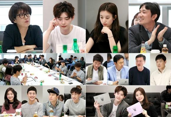 Suasana Brifing awal Drama Korea W - Two Worlds