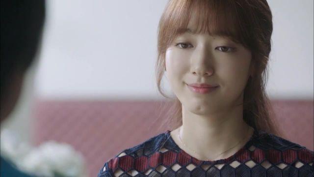 "Park Shin Hye in a Scene of Final Episode in K-drama ""Doctors"" (Episode 20)"