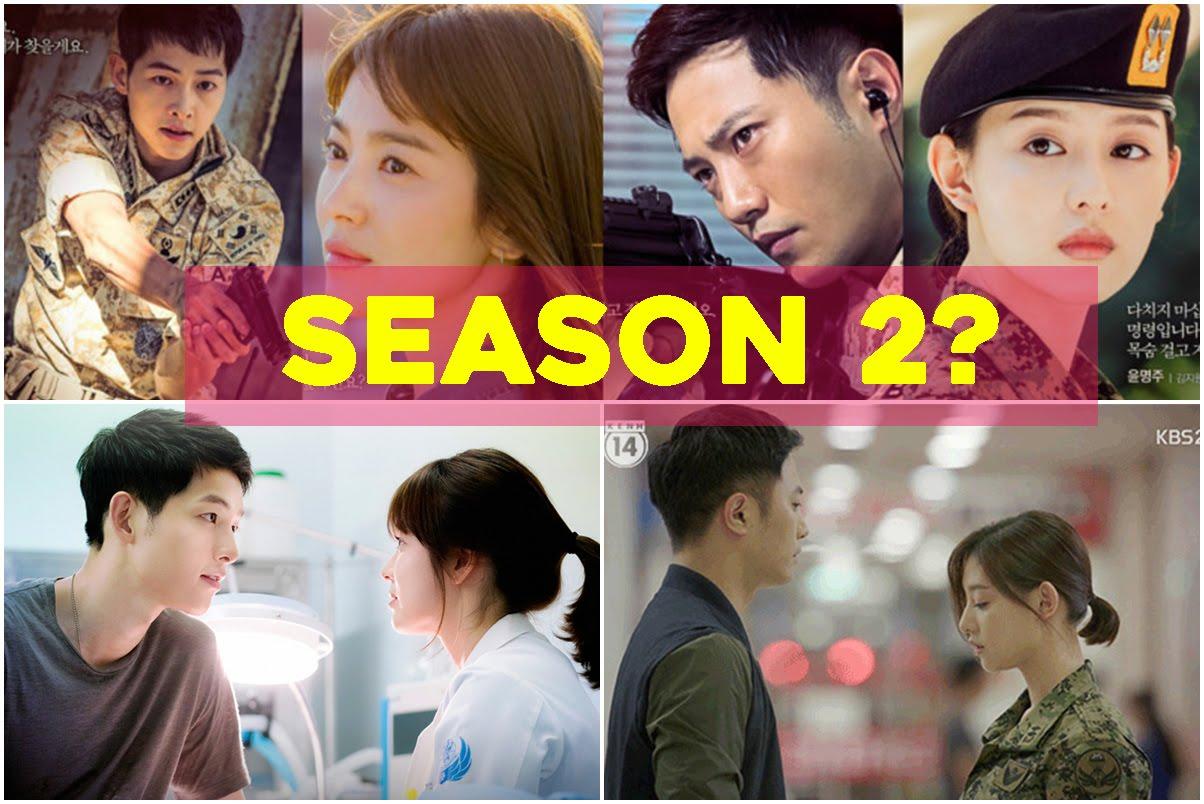 KBS2 drama, Descendant of the Sun 2 in 2017