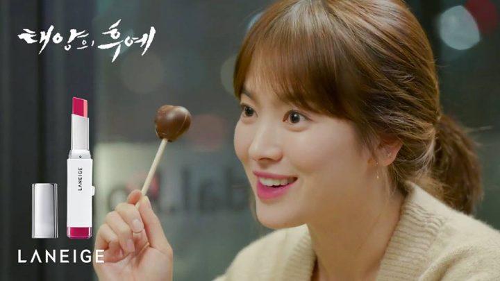 Lipstik Laneige yang dipakai Song Hye Kyo
