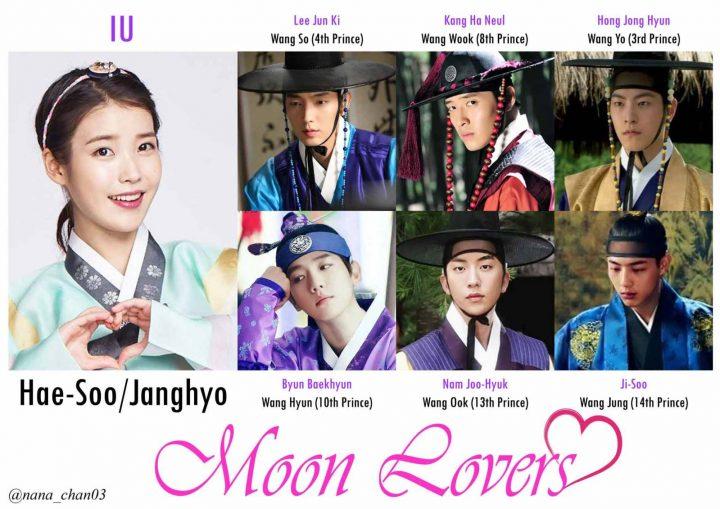 Foto Poster K-Drama Moon Lovers Scarlet Heart Ryeo (2)