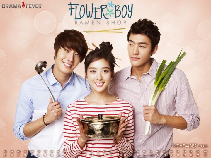 "Foto K-Drama Poster ""Flower Boy Ramyun Shop"""