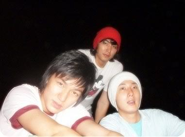 Foto Jung Il Woo with His Close Friends Lee Min Ho and Kim Beom