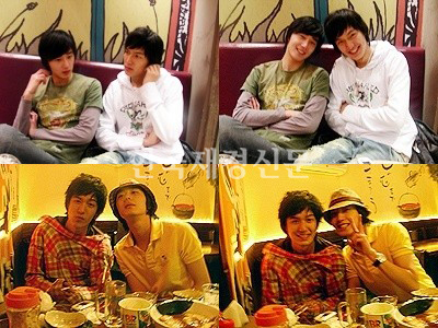 Foto Jung Il Woo Likes to Hang Out with Friends