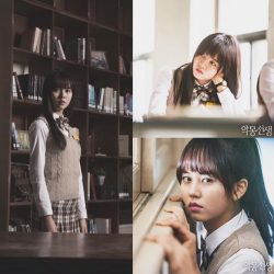 "Foto Kim So Hyun in Webdrama ""Nightmare Teacher"" (2)"