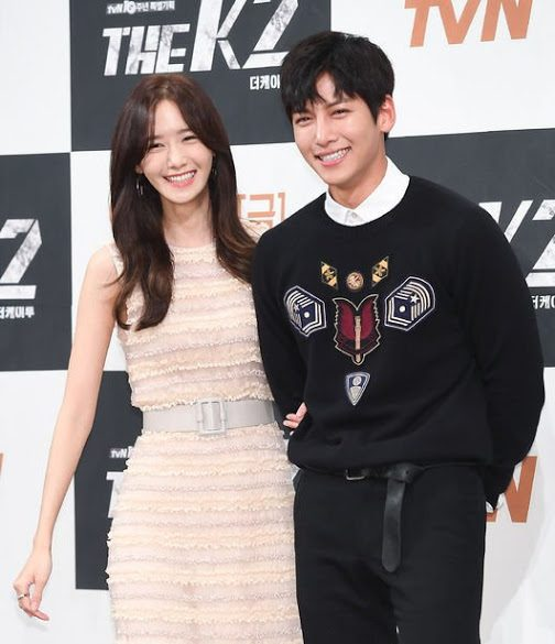 "The Cheerful and Happy YoonA and Ji Chang Wook at ""The K2"" Press Conference"