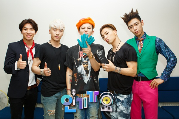 Bigbang on Sbss Inkigayo 2015