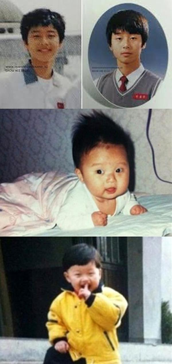 Park Seo Joon Childhood Photo 1
