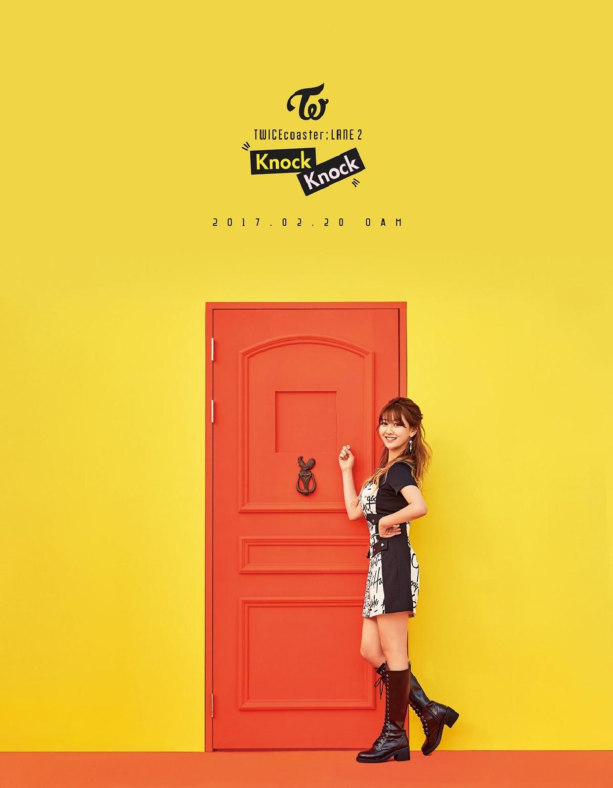 TWICE Knock Knock Poster Jihyo
